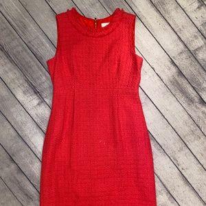 Kate Spade Women's Dress, Size 12, Pink, Tweed-lik